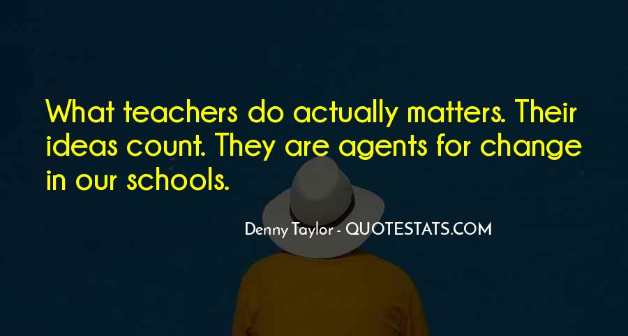 Quotes About Change Agents #23389