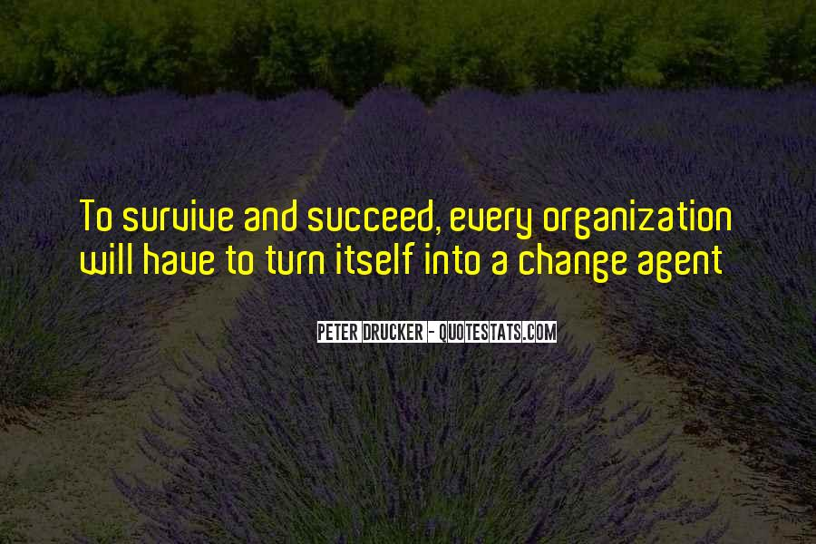Quotes About Change Agents #270795