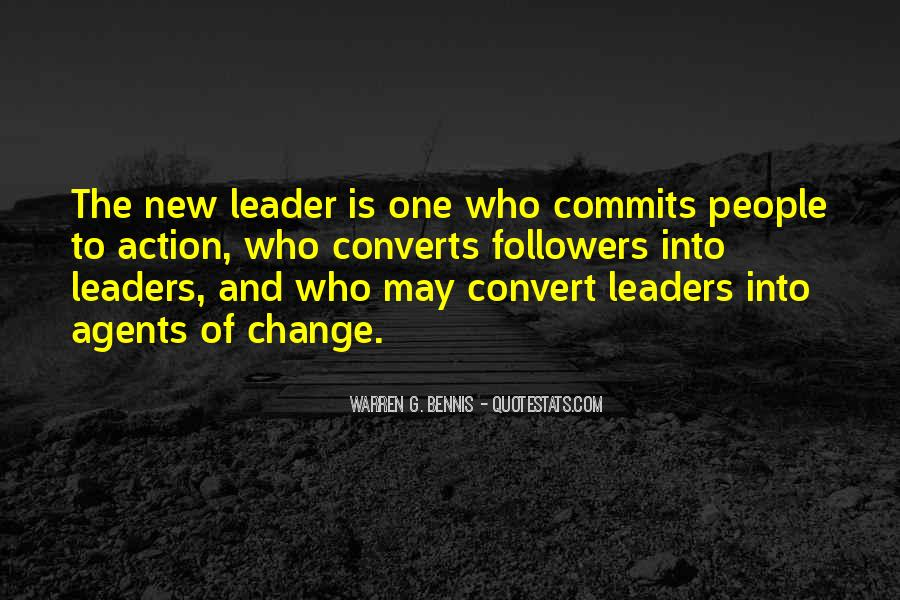 Quotes About Change Agents #535697