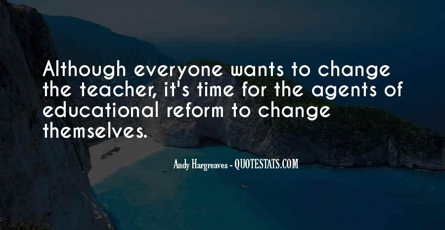 Quotes About Change Agents #57050