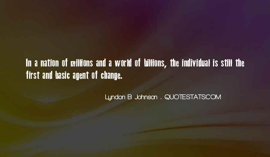 Quotes About Change Agents #741878