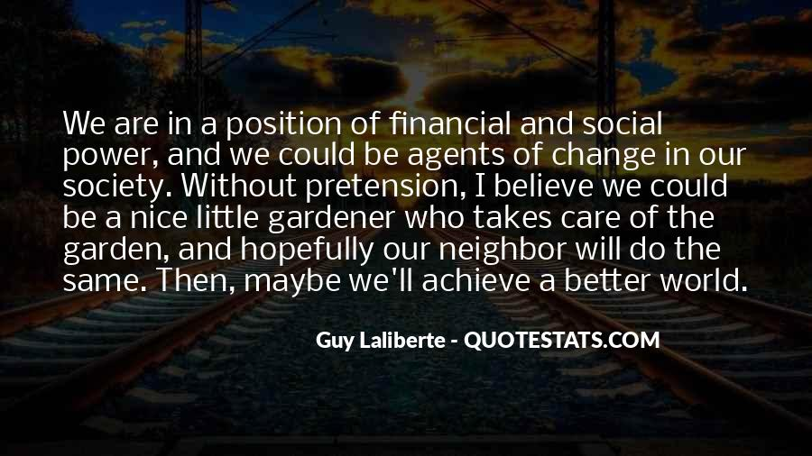 Quotes About Change Agents #760698