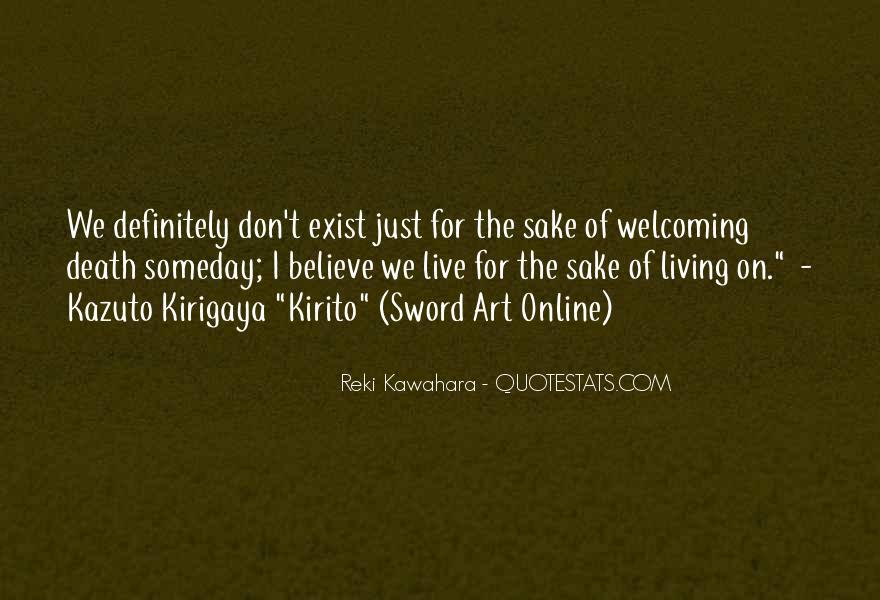 Kazuto Quotes #337502