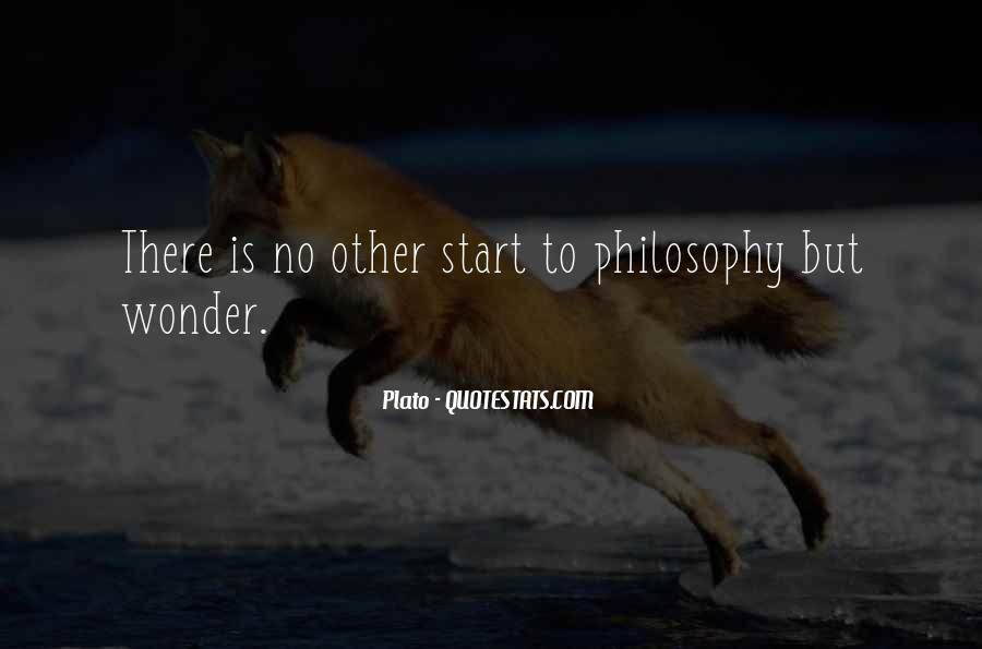 Quotes About Philosophy Plato #876340