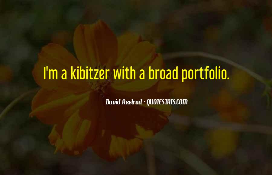 Kibitzer Quotes #787816