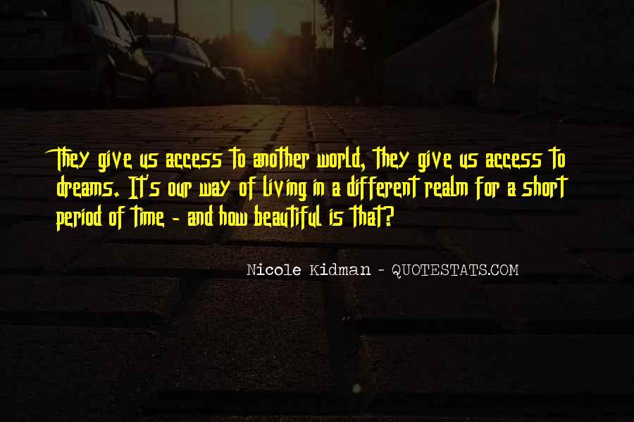 Kidman's Quotes #1103600