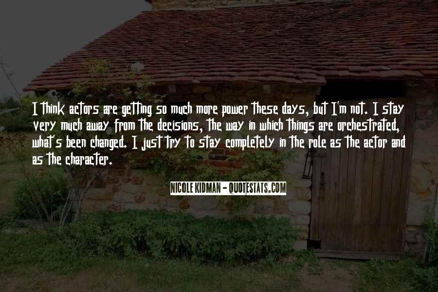 Kidman's Quotes #1146861