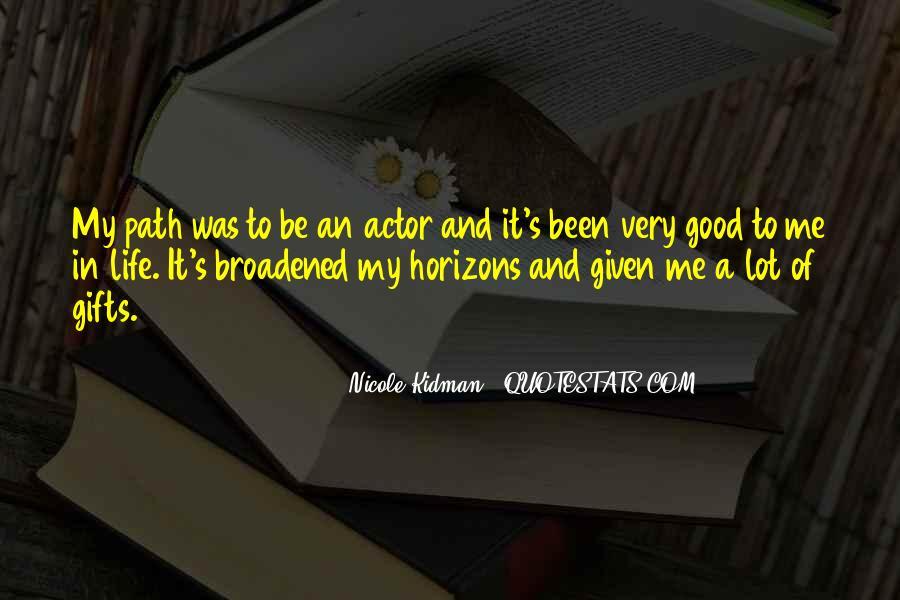 Kidman's Quotes #1291842