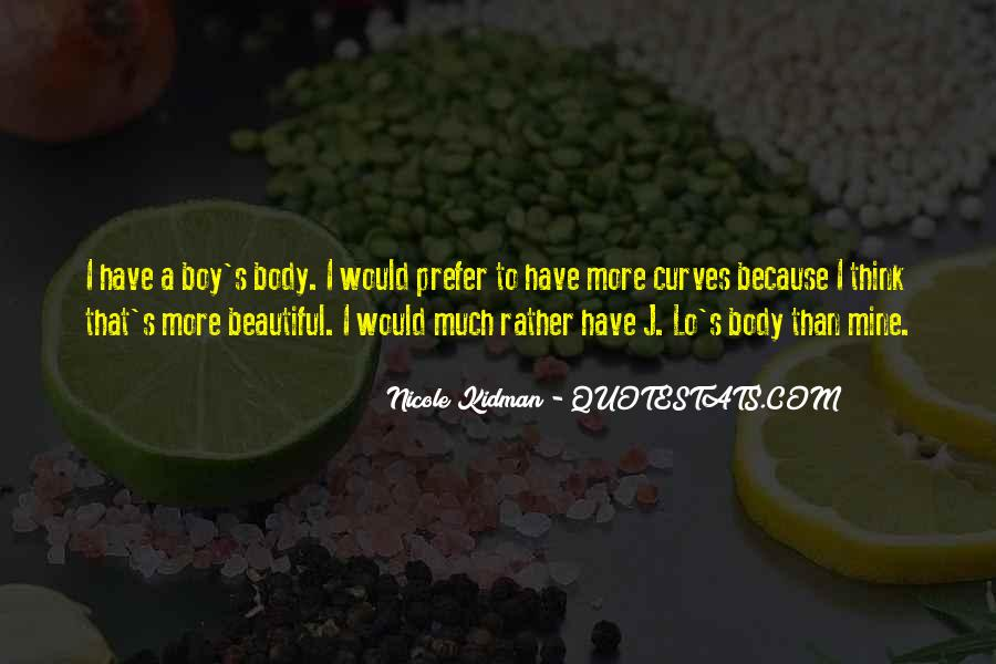 Kidman's Quotes #1373032
