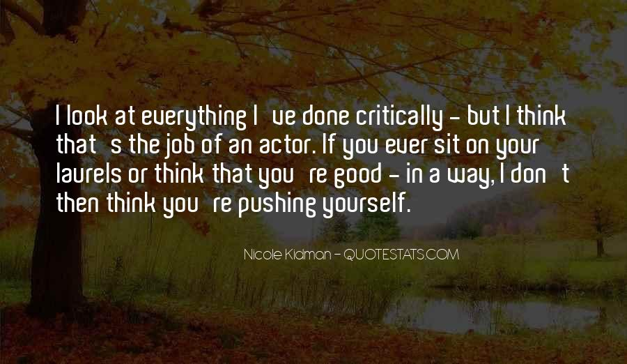 Kidman's Quotes #1574783