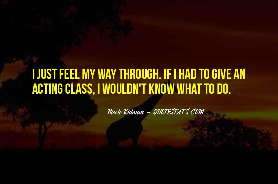 Kidman's Quotes #160266