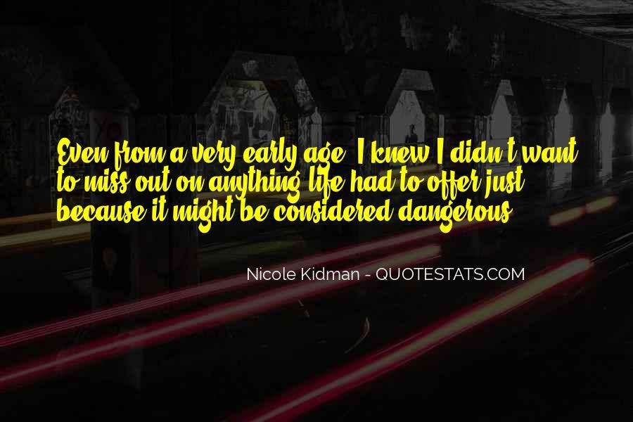 Kidman's Quotes #218388
