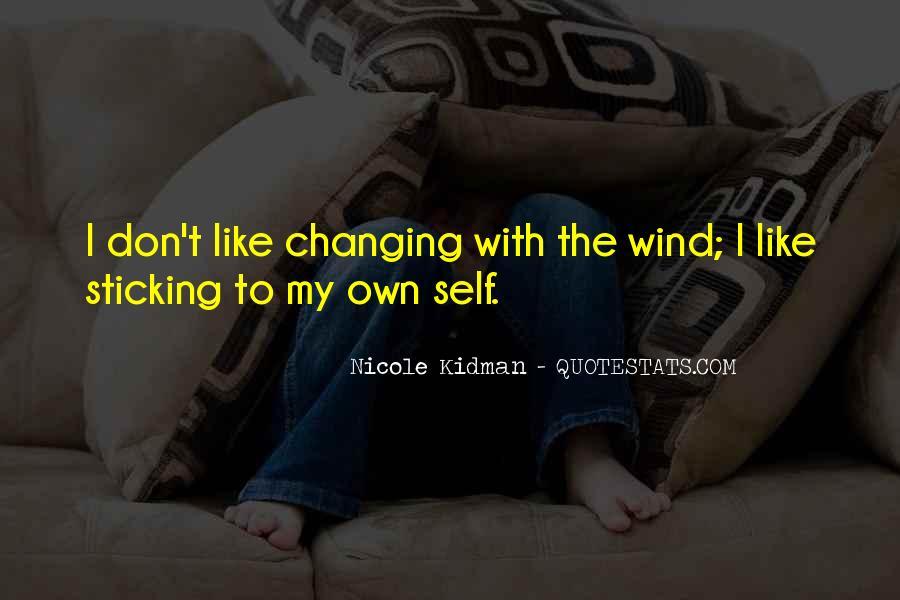 Kidman's Quotes #230784