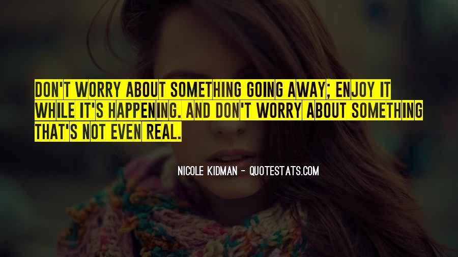 Kidman's Quotes #287622