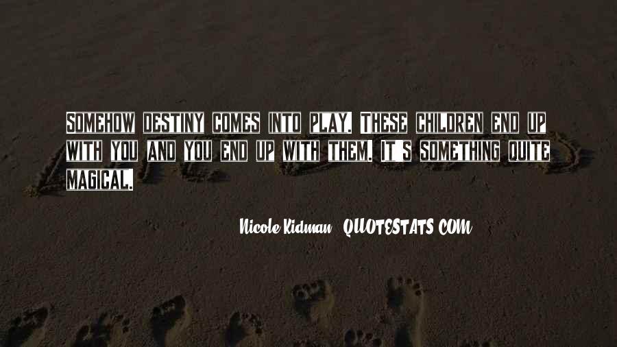 Kidman's Quotes #361957