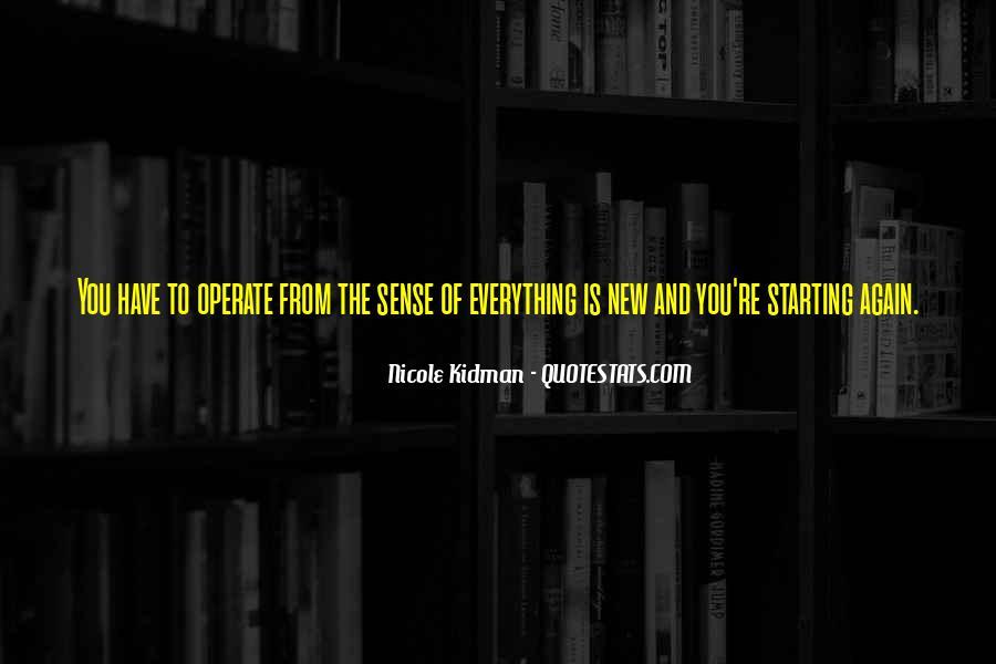 Kidman's Quotes #367556