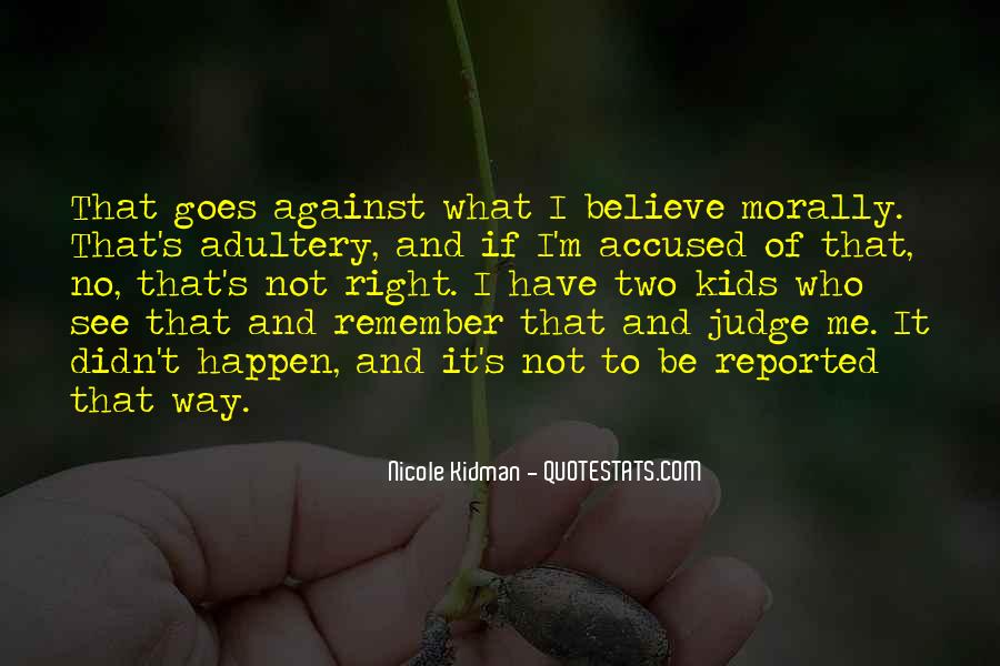 Kidman's Quotes #665876