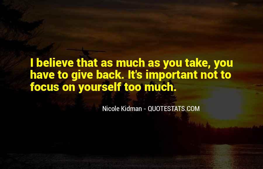 Kidman's Quotes #729330