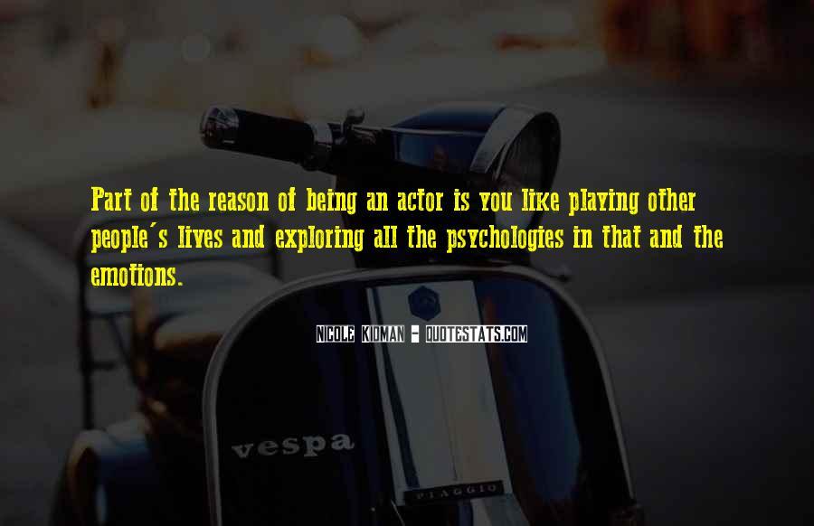 Kidman's Quotes #881930