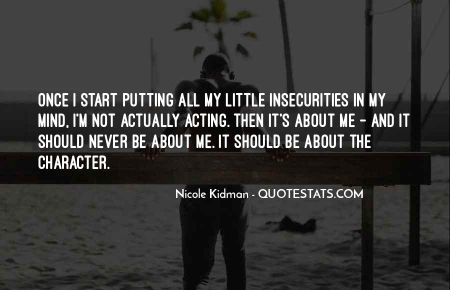 Kidman's Quotes #982429