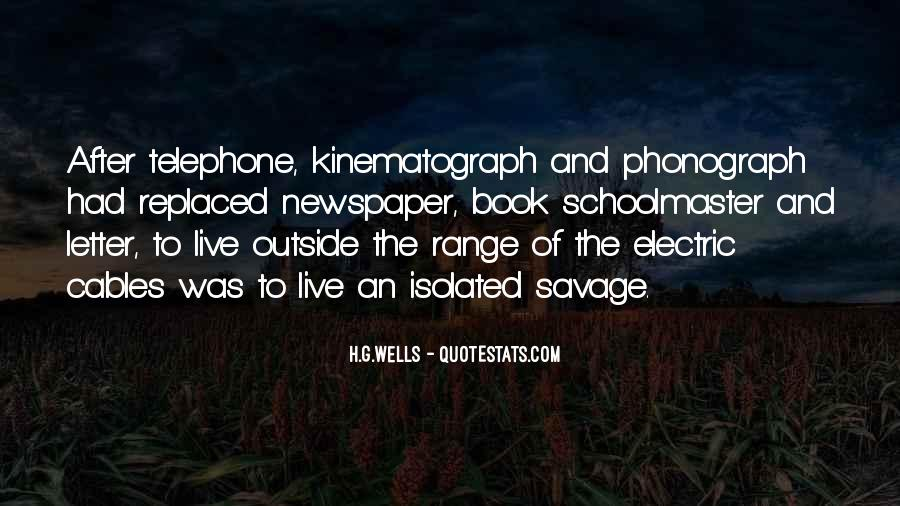 Kinematograph Quotes #729434