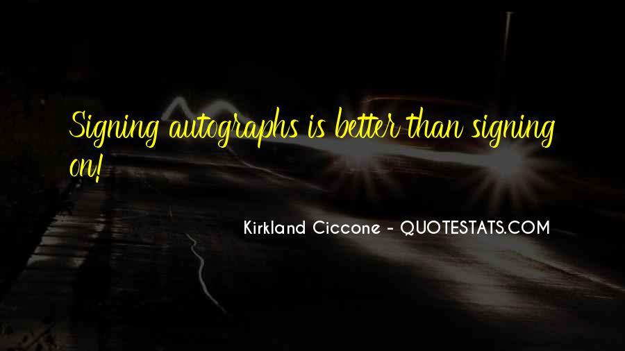 Kirkland's Quotes #1347693