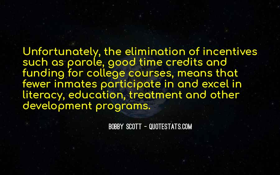 Quotes About Funding Education #1345086