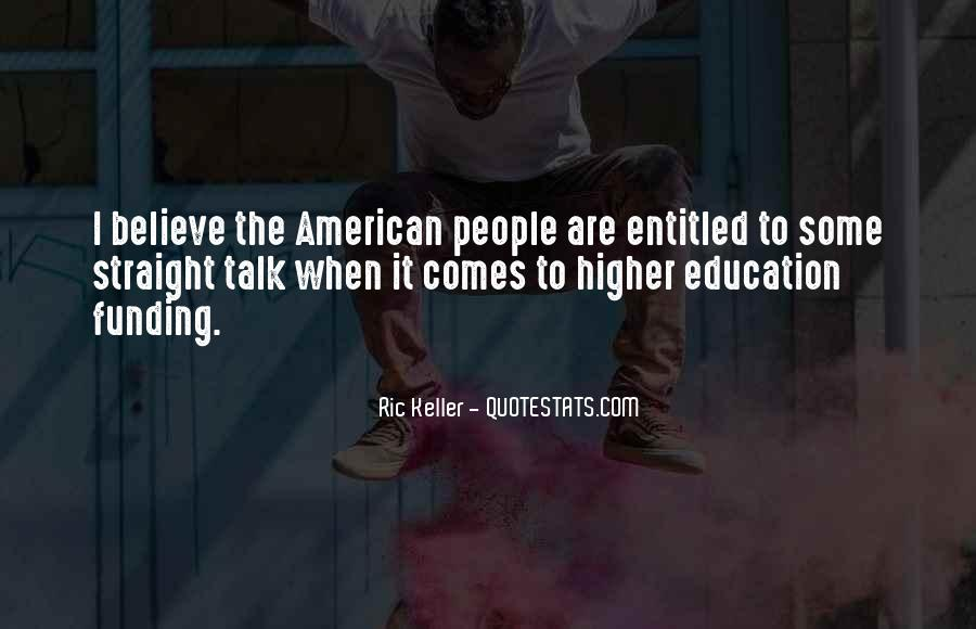 Quotes About Funding Education #1402341
