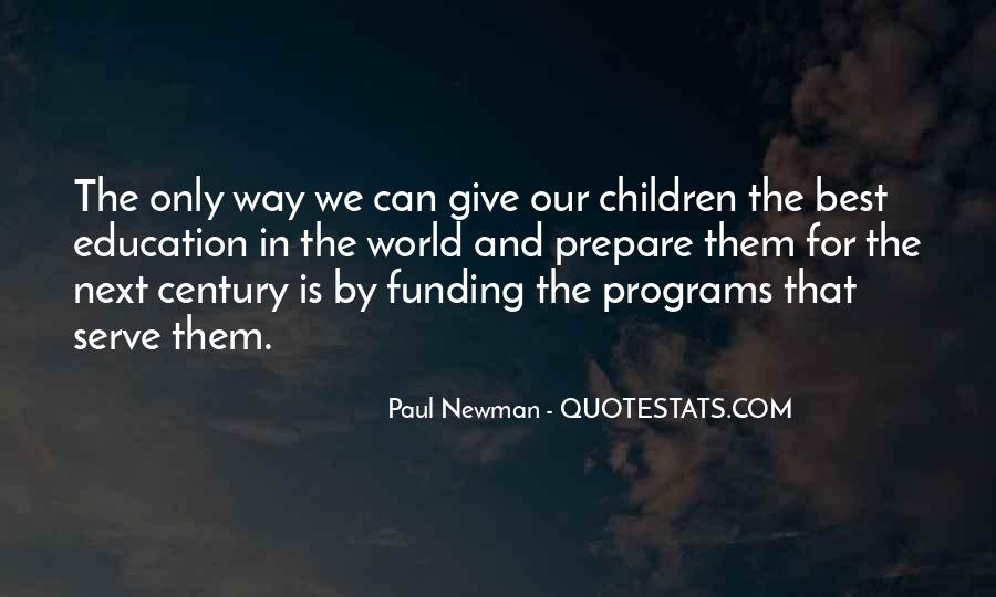 Quotes About Funding Education #1735853