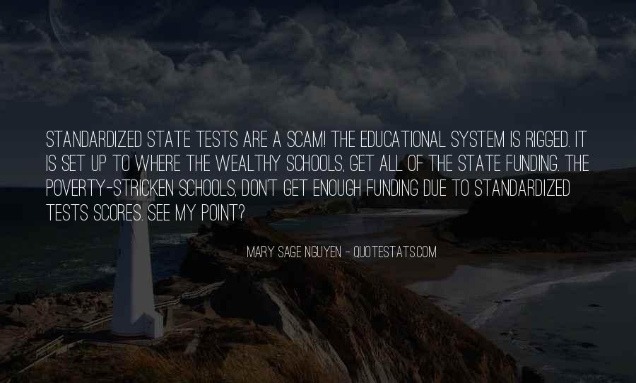 Quotes About Funding Education #215523