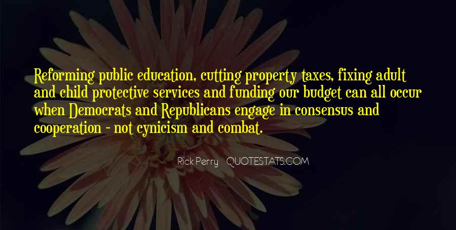Quotes About Funding Education #612380