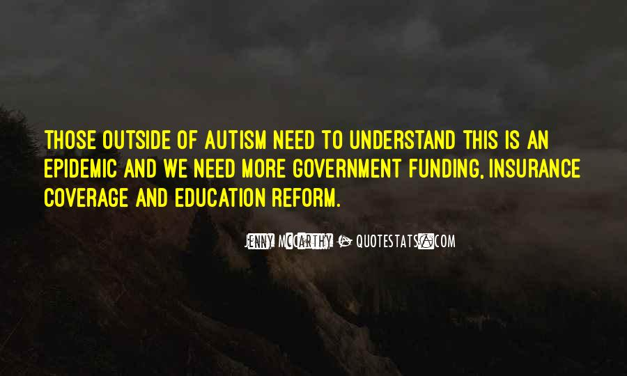 Quotes About Funding Education #864188