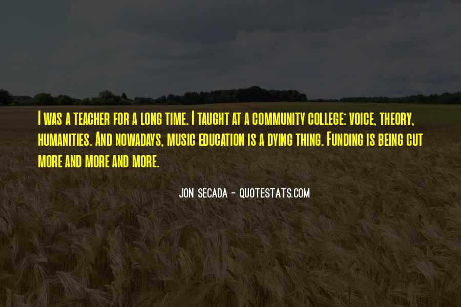 Quotes About Funding Education #88820