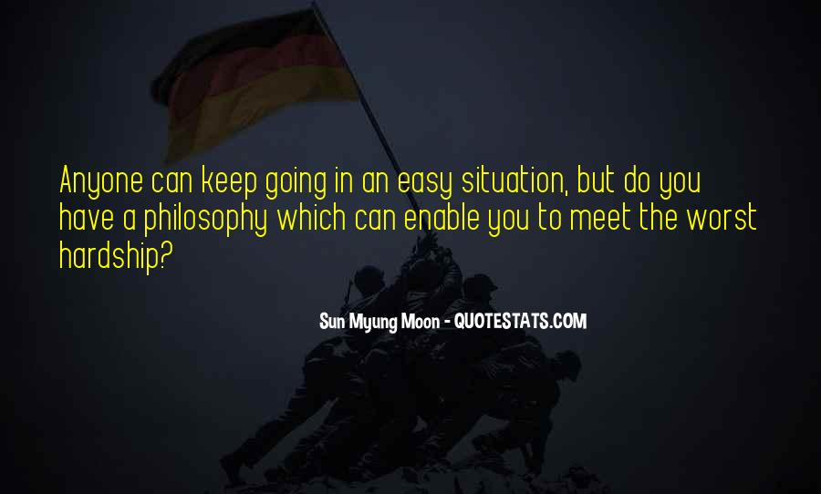 Quotes About Worst Situation #1581801