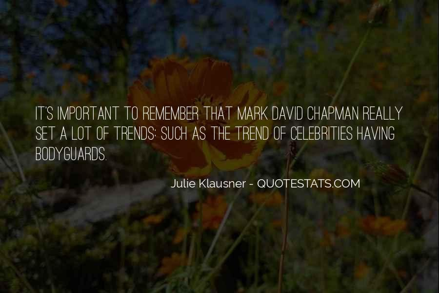 Klausner Quotes #1346886