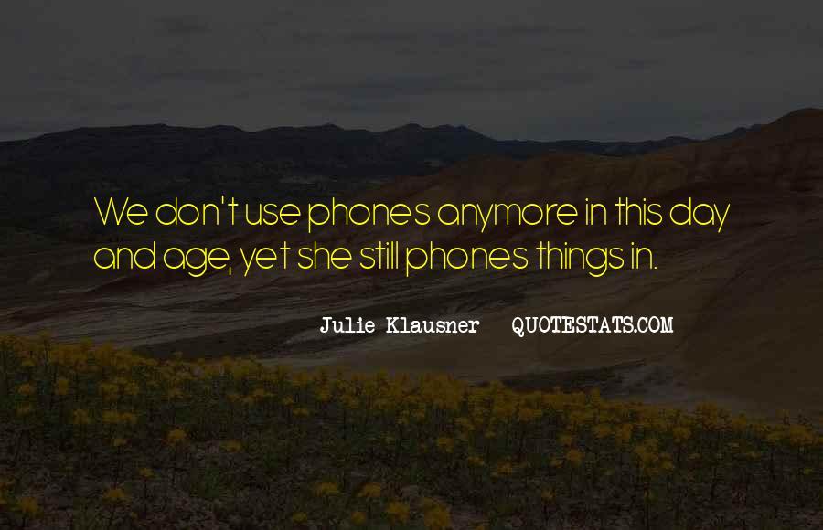 Klausner Quotes #1489917