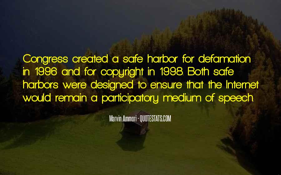 Quotes About Defamation #1301677