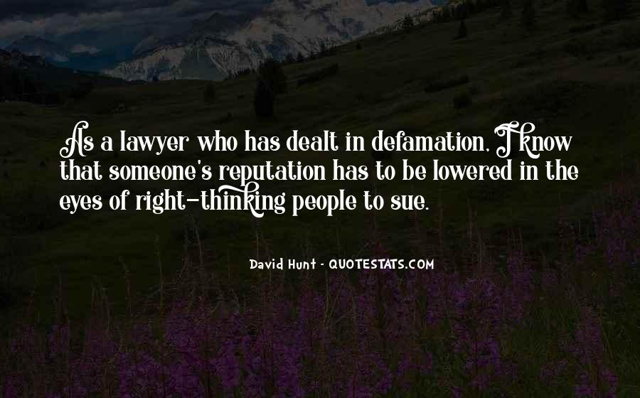 Quotes About Defamation #839274