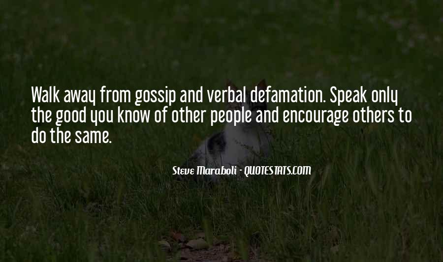 Quotes About Defamation #876672