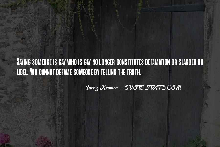 Quotes About Defamation #969696