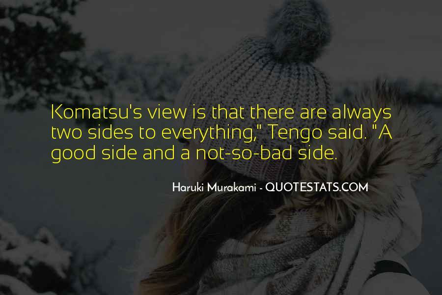 Komatsu's Quotes #731445