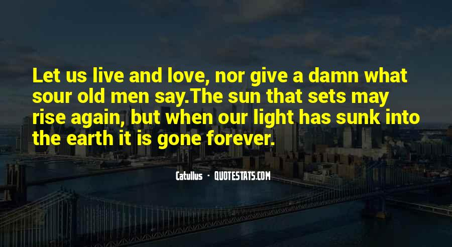 Quotes About Love Gone Sour #625860