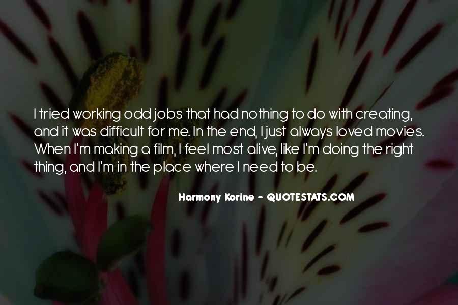 Korine's Quotes #939317