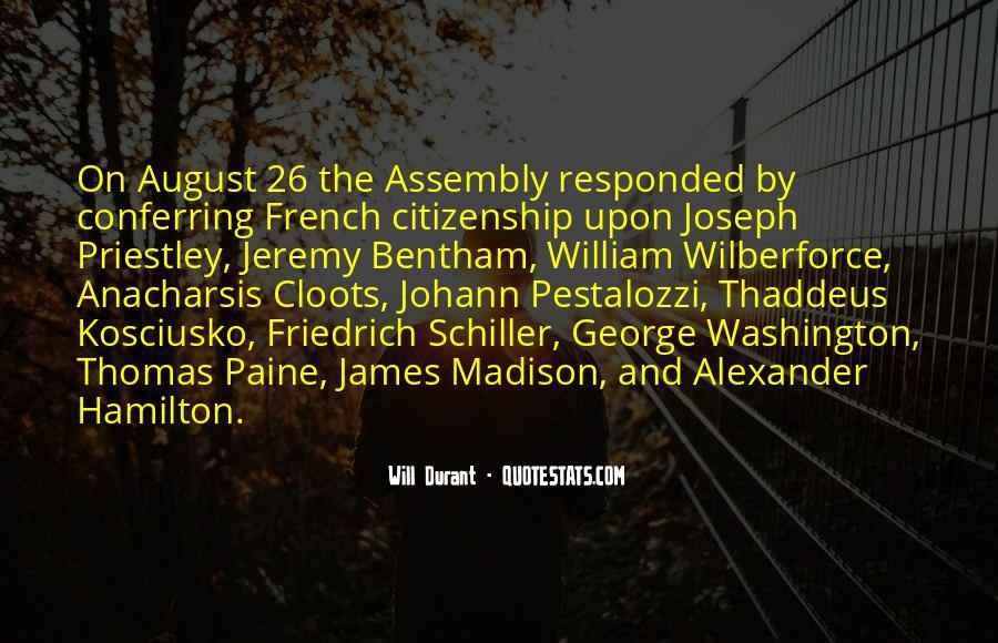 Kosciusko Quotes #166476