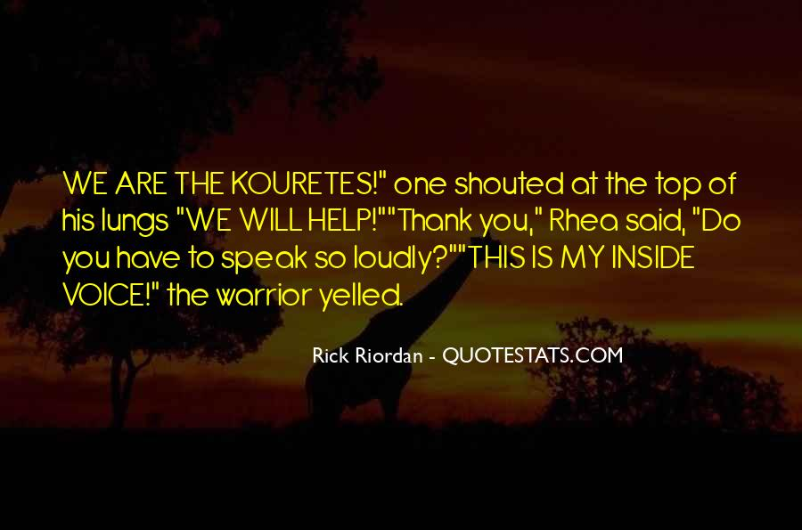 Kouretes Quotes #1782169