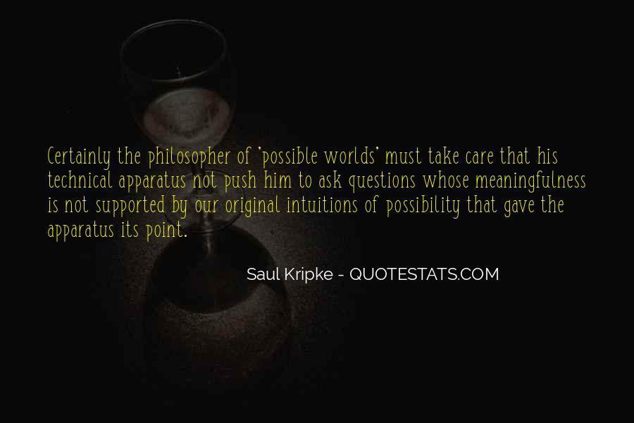 Kripke Quotes #1441580