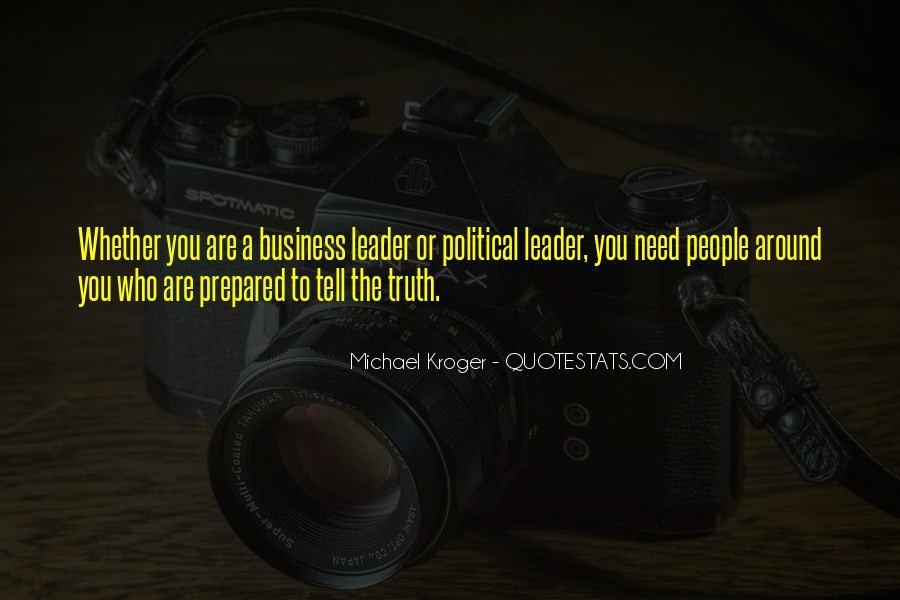 Kroger's Quotes #1685271