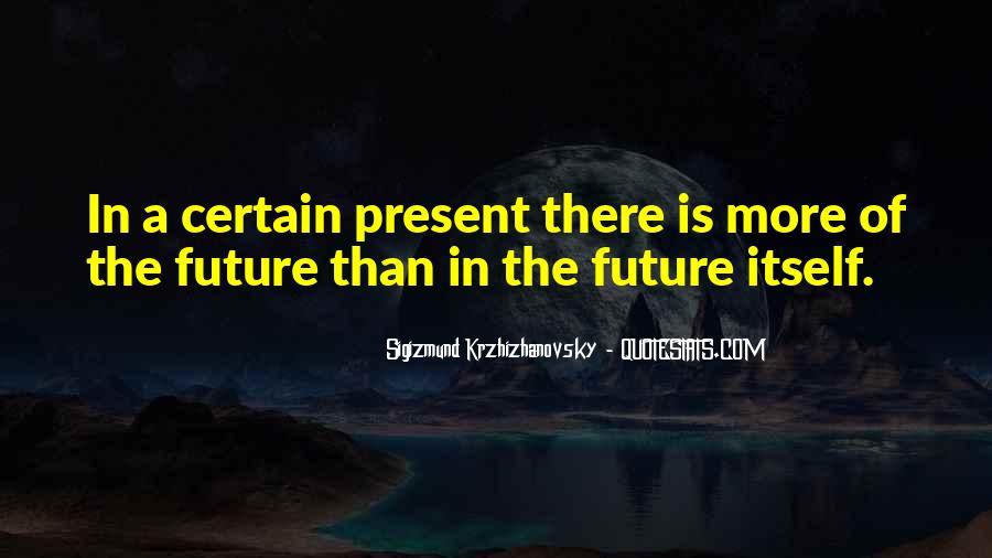 Krzhizhanovsky's Quotes #1214447