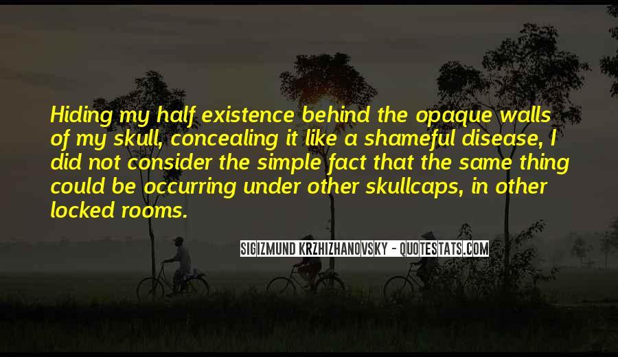 Krzhizhanovsky's Quotes #1412945