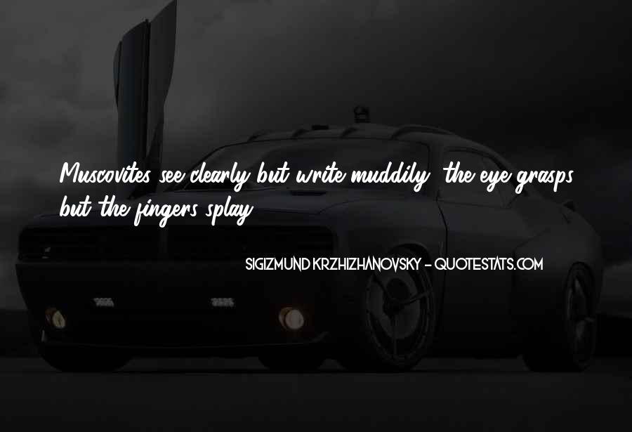 Krzhizhanovsky's Quotes #1465560